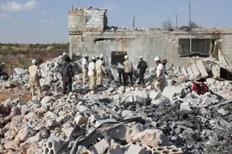 80,000 DISPLACED FOLLOWING RUSSIAN STRIKES IN SYRIA