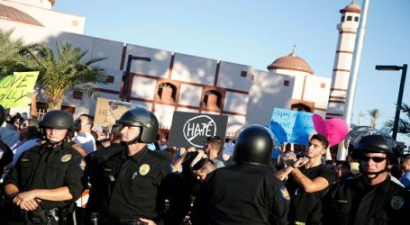 US MOSQUES URGED TO TAKE PRECAUTION BEFORE RALLIES