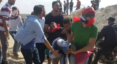 SIX SHOT DEAD, DOZENS WOUNDED BY IOF IN GAZA AND WEST BANK CLASHES TODAY