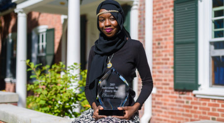 YALE MUSLIM STUDENT WINS WORLD POETRY TITLE