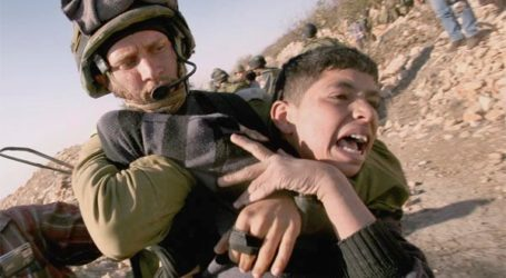 IOF ARREST CHILD WITH SPECIAL NEEDS IN AL-KHALIL