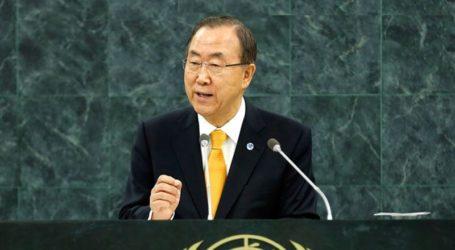 UN CHIEF URGES EGYPT, ISRAEL TO END GAZA SIEGE