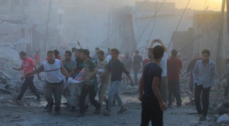 RUSSIAN AIRSTRIKES KILL EIGHT CIVILIANS IN SYRIA