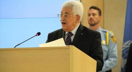 ABBAS TELLS UN OF ISRAELI EXTRAJUDICIAL KILLINGS