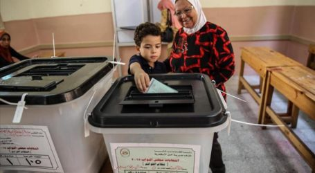 EGYPT PARLIAMENTARY POLLS OPEN TO LOW TURNOUT