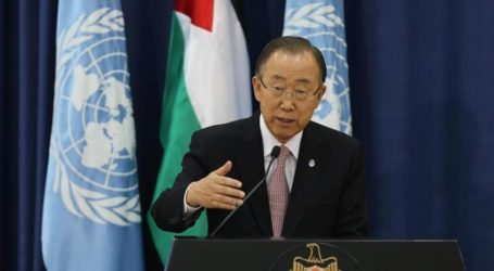 UN CHIEF URGES DIRECT TALKS BETWEEN ABBAS, NETANYAHU