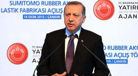 TURKEY: ERDOGAN WARNS COUNTRIES AGAINST BACKING TERROR