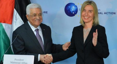 PALESTINIAN PRESIDENT SEEKS EU'S HELP TO DEFUSE CRISIS