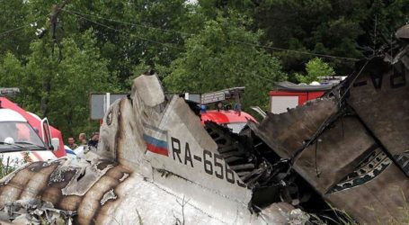 RUSSIAN JET WITH 224 PEOPLE ABOARD CRASHES IN EGYPT'S SINAI