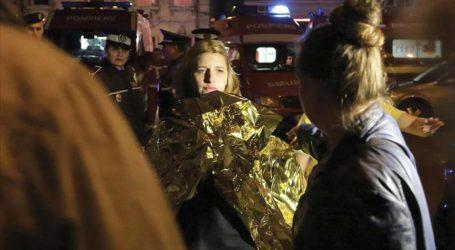 FIRE IN ROMANIAN NIGHTCLUB KILLS 27 PEOPLE
