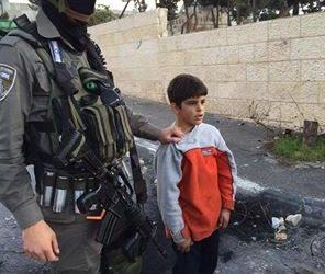 Israel Arrested 16.500 Palestinian Children Since 2000