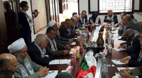 PALESTINIAN FACTIONS AGREE ON MECHANISMS TO SUPPORT INTIFADA