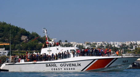 TURKEY ROUNDS UP 3,000 REFUGEES