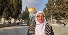 ISRAEL BANS ACTIVIST ENTERING AL QUDS