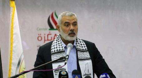 HANIYEH: AL-AQSA WILL NOT BE SPATIALLY DIVIDED