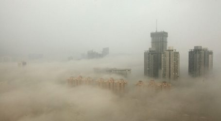 BEIJING DECLARES FIRST EVER RED ALERT FOR POLLUTION