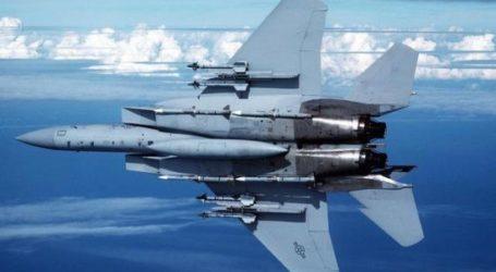 US F-15 WARPLANES RETURN FROM TURKEY