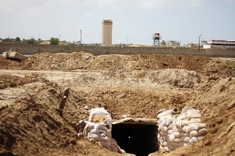 EGYPT DESTROYS 20 GAZA TUNNELS IN NOVEMBER