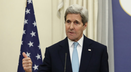 JOHN KERRY WARNS ISRAEL AGAINST COLLAPSE OF PALESTINIAN AUTHORITY