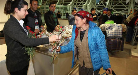 TURKEY WELCOMES MESKHETIAN TURKS FROM EAST UKRAINE