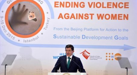 TURKISH PM CALLS FOR AN END TO VIOLENCE AGAINST WOMEN