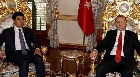 TURKEY: ERDOGAN MEETS IRAQI KURDISH PM
