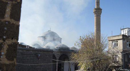 OTTOMAN MOSQUE GUTTED IN PKK FIRE IN SOUTHERN TURKEY