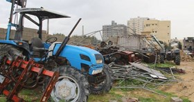 GAZA'S AGRICULTURE HARD-HIT BY $300,000 OF LOSSES