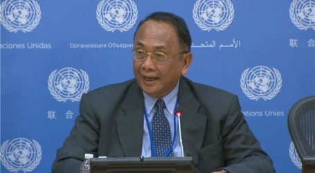 ISRAEL CAUSES UN MONITOR IN PALESTINE TO QUIT