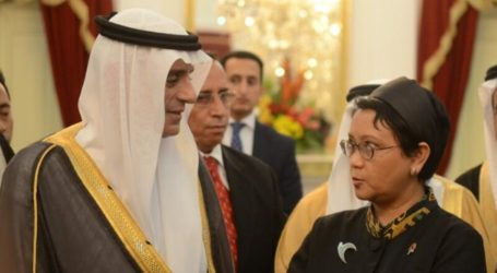 Saudi Foreign Minister Meets Indonesian Counterpart
