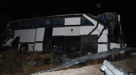 14 DEAD IN TWO DEADLY REFUGEE BUS CRASHES IN TURKEY