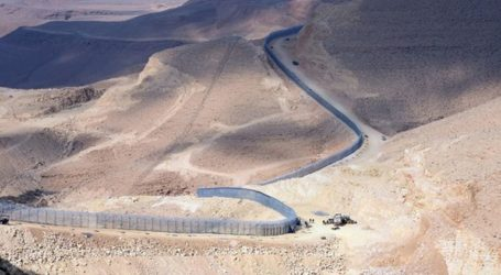 Israel Begins To Build 'Security Fence' On Borders With Jordan