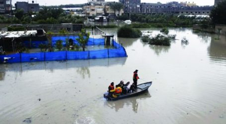 Blockaded Gaza Damaged By Rainstorms