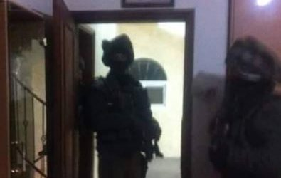 Israeli Soldiers Kidnap Five Palestinians Near Jenin