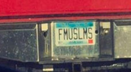 Anti-Muslim License Plate In Minnesota Sparks Outrage