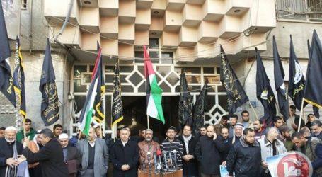 Islamic Jihad, Hamas Hold Rally to Support West Bank Shooting