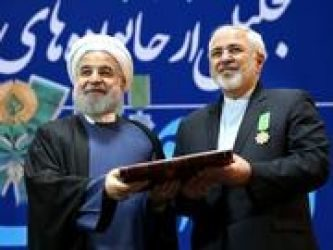 Rouhani Awards Medals to Nuclear Negotiators