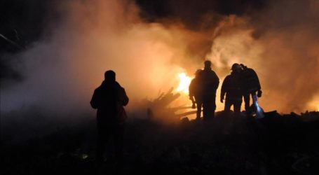 South Africa Fire Leaves 500 People Homeless