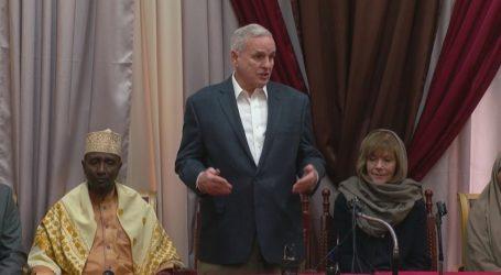 US Governor Of Dayton Visits Islamic Center After Burglary