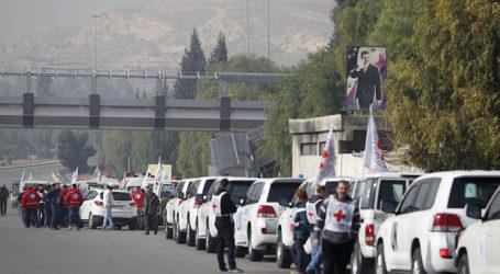 Syrian Regime Blocks Aid Convoys To Douma, Darayya