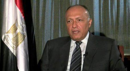 Egypt, Palestine FMs Discuss Imminent Gaza Handover