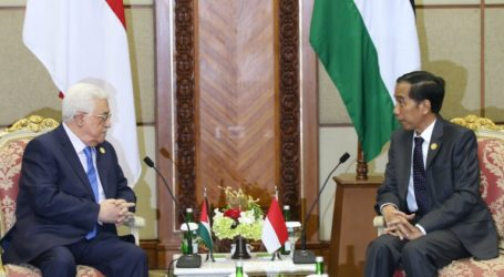 Jokowi Stresses on the Importance Of Palestine Reconciliation