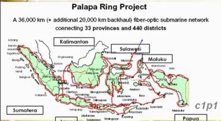 Indonesia Launches Palapa Optic Fiber Network Project