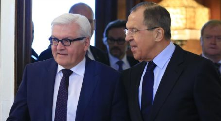 German, Russian FMs Discuss Counter Terrorism In Moscow