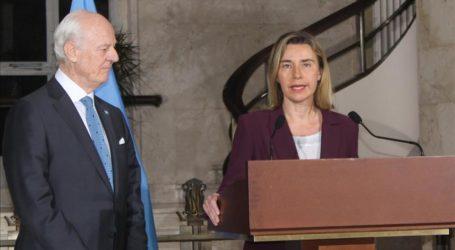 Mogherini Pushes For Progress At Syria Talks In Geneva