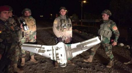 Peshmerga Forces Shoot Down ISIL Drone Near Mosul Front