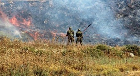 Israeli Forces Set Fire To 8000 Dunums In Al-Khalil