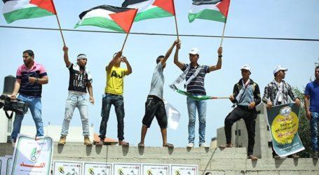 Israel Forces Attacks Gaza Nakba Rally