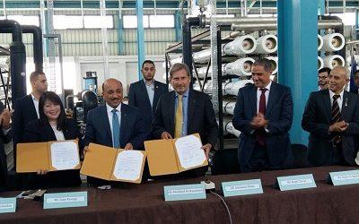 Gaza: EU Commissioner Visits Seawater Desalination Plant, Announces Funding