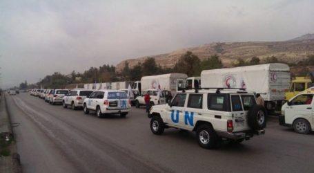 UN Says Aid Convoy Reaches Syria's Besieged Homs' Waer